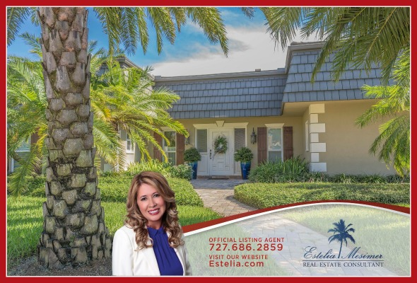 waterfront home for sale in St Petersburg FL