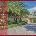 UNDER CONTRACT! 4986 62nd Ave S St Petersburg FL 33715 | Waterfront Home with a Pool for Sale