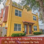 512 4th Ave S Apt 3 Saint Petersburg FL 33701 | Townhome for Sale