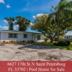 Home For Sale With A Pool | 6627 17th St N Saint Petersburg FL 33702