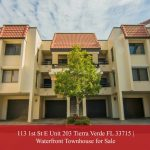 113 1st St E Unit 203 Tierra Verde FL 33715 | Townhouse for Sale