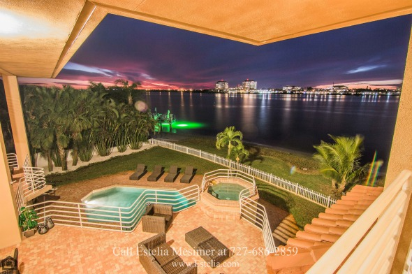 St. Petersburg FL High-end Waterfront Homes for Sale